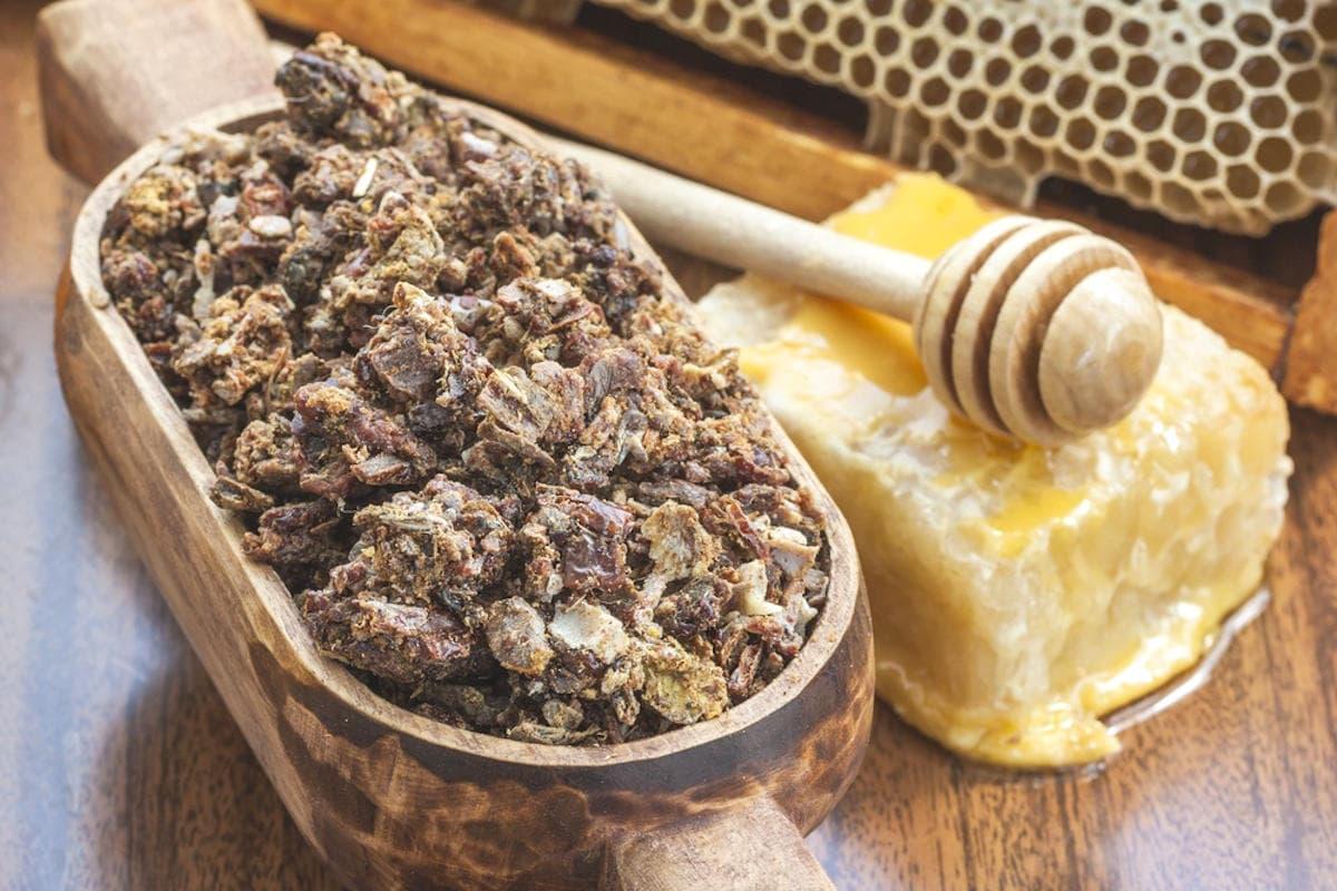 Что такое пчелиный прополис?