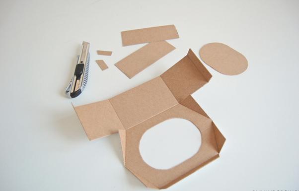 Изготовление кормушек для птиц из картона