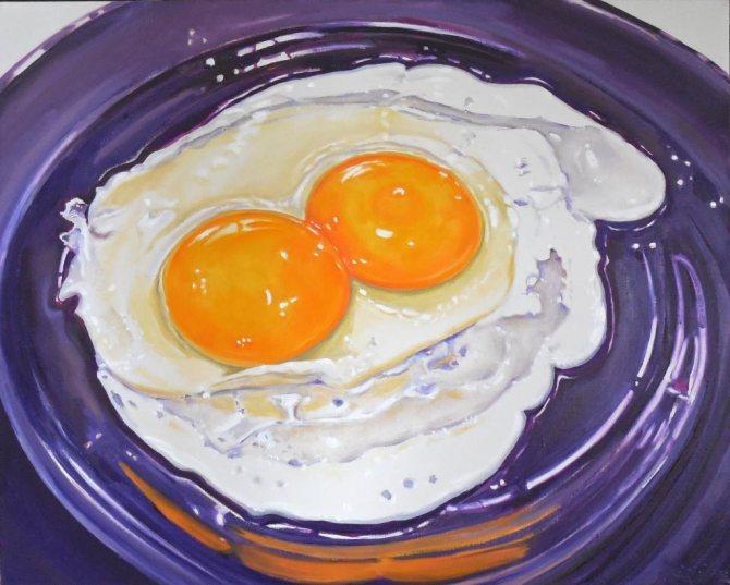 Яйцо с двумя желтками