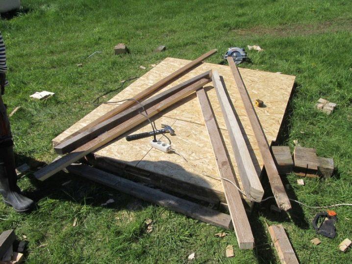 Инструменты и материалы для курятника